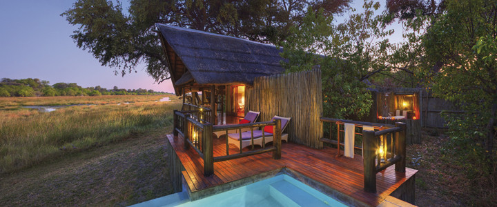 Khwai River Lodge by Orient Express, Moremi Game Reserve, Botswana