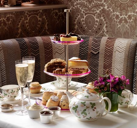 afternoon tea at haymarket hotel
