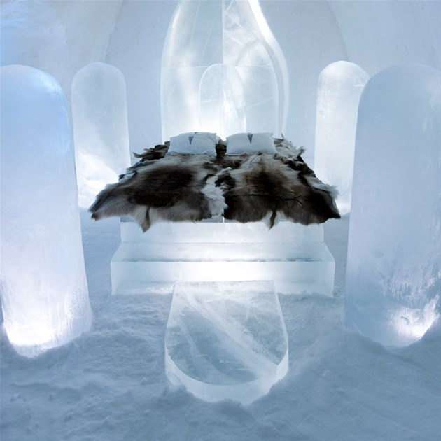 Ice Hotel, Jukkasjärvi,Sweden