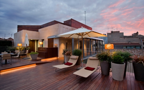 Mercer Hotel rooftop