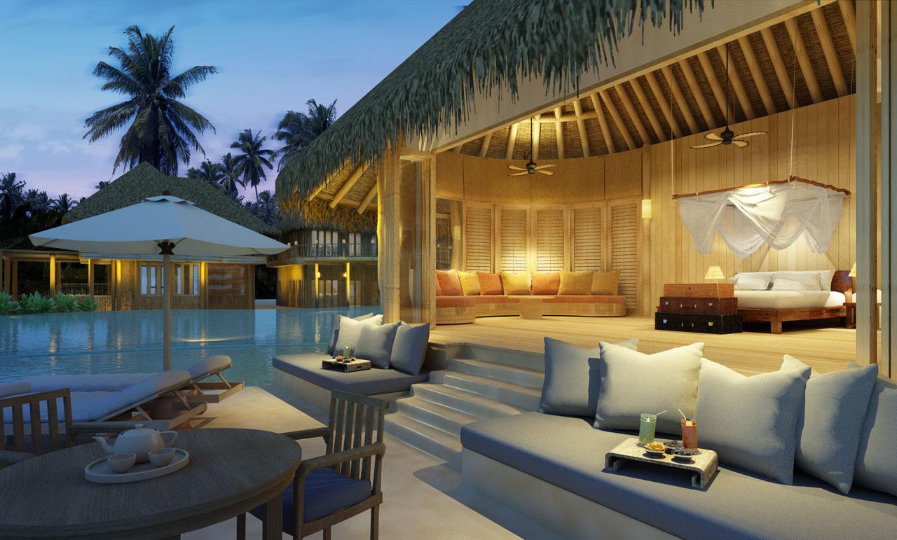 six bed residence soneva fushi maldives