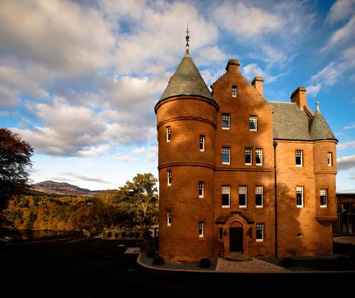 Fonab Castle Hotel, Perthshire,Scotland