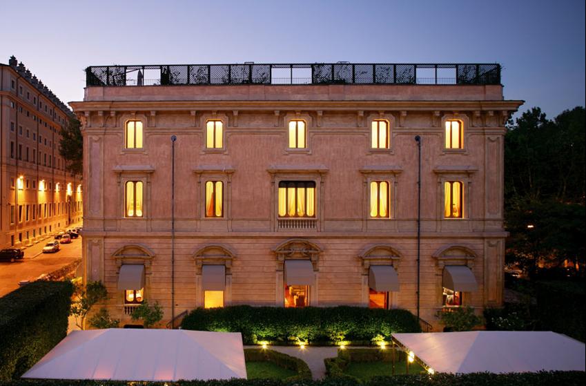 Villa Spalletti Trivelli, Rome,Italy