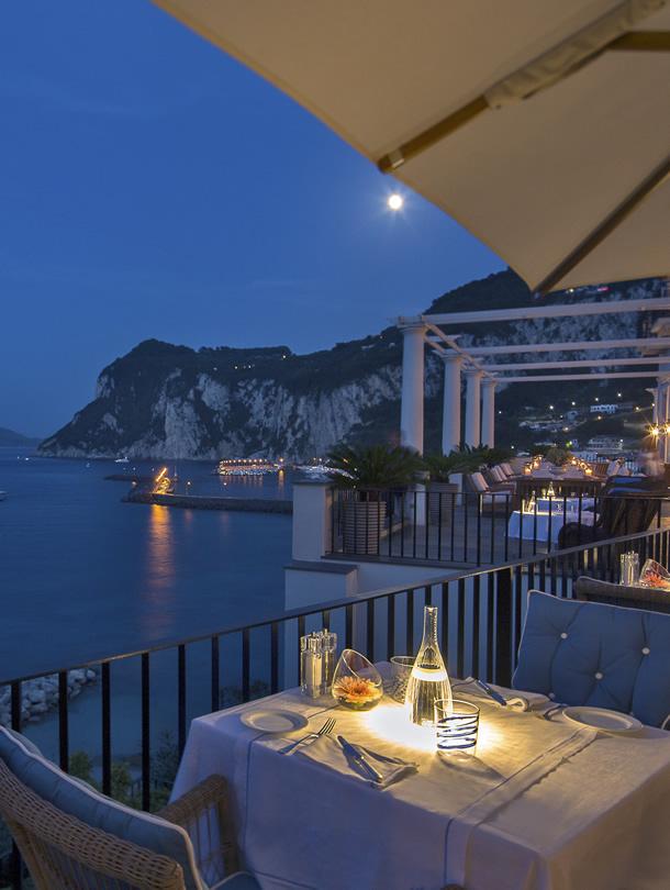 J.K Place, Marina Grande, Capri,Italy
