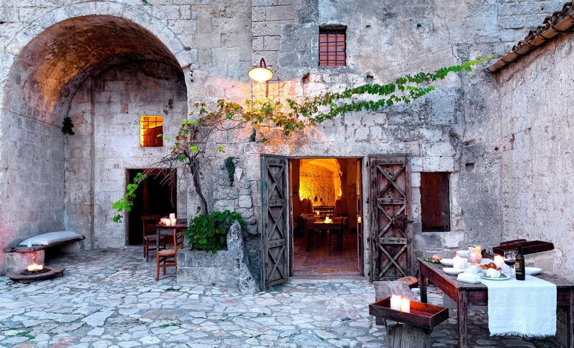 Sextantio Le Grotte della Civita, Matera, Bari,Italy
