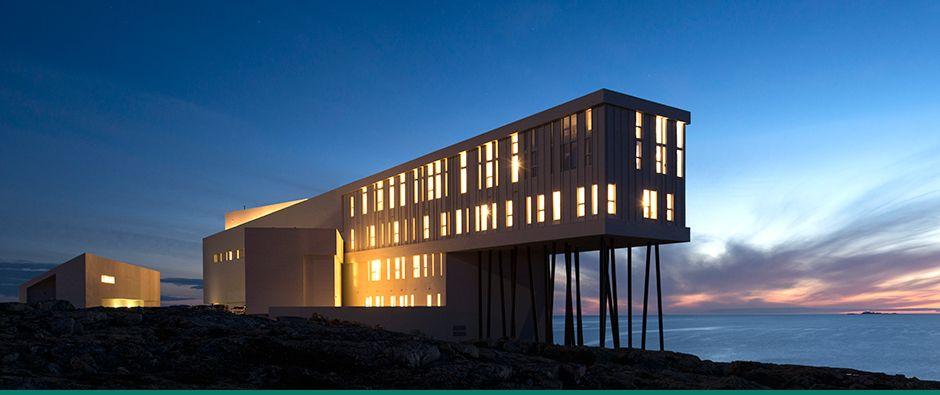 Fogo Island Inn, Newfoundland,Canada