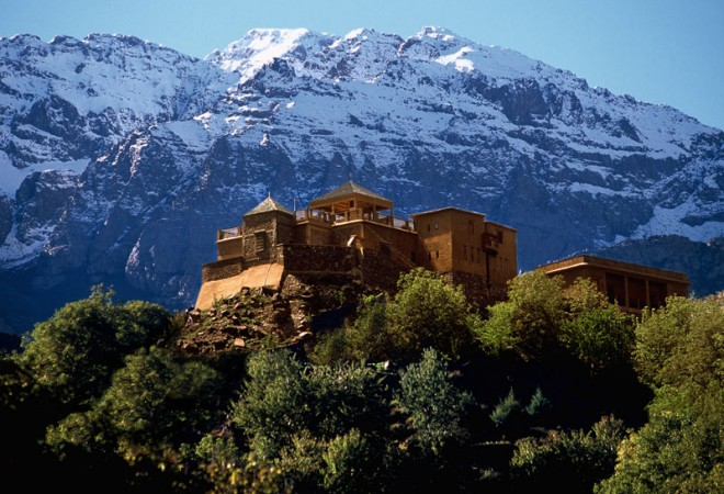 Kasbah Du Toubkal, Toubkal National Park, Atlas Mountains, Morocco