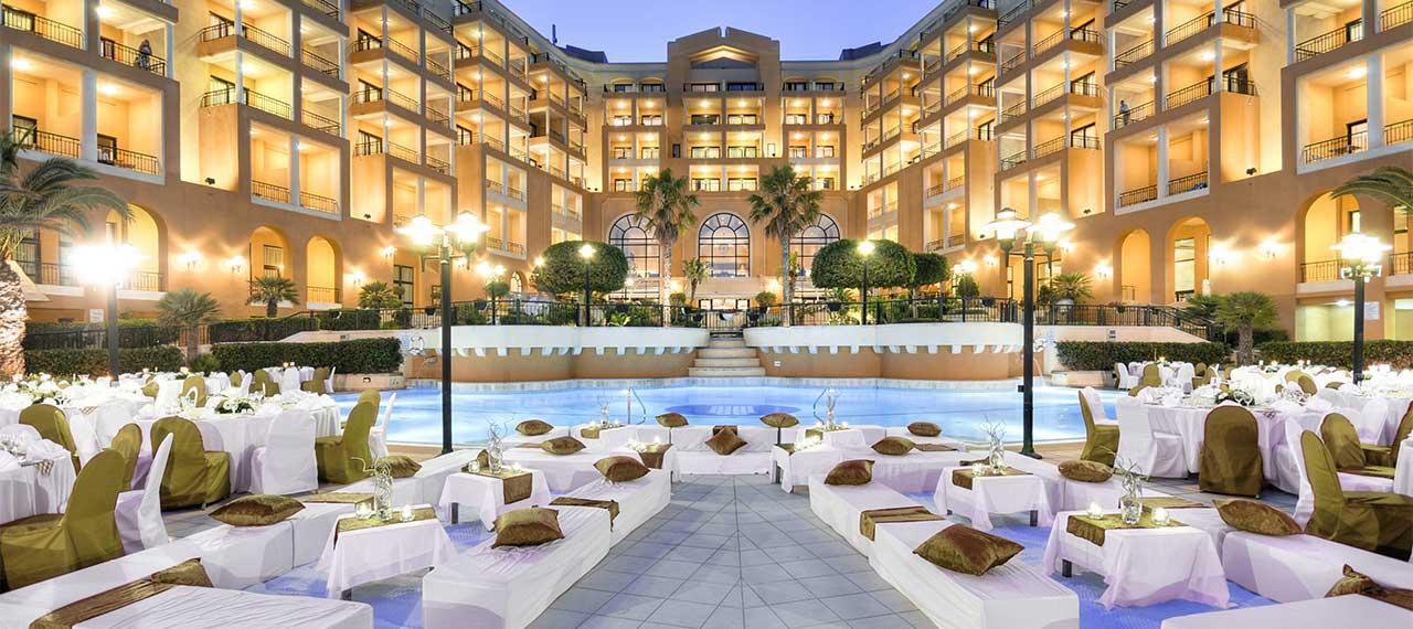 Corinthia Hotel, St George's Bay,  St. Julians,Malta