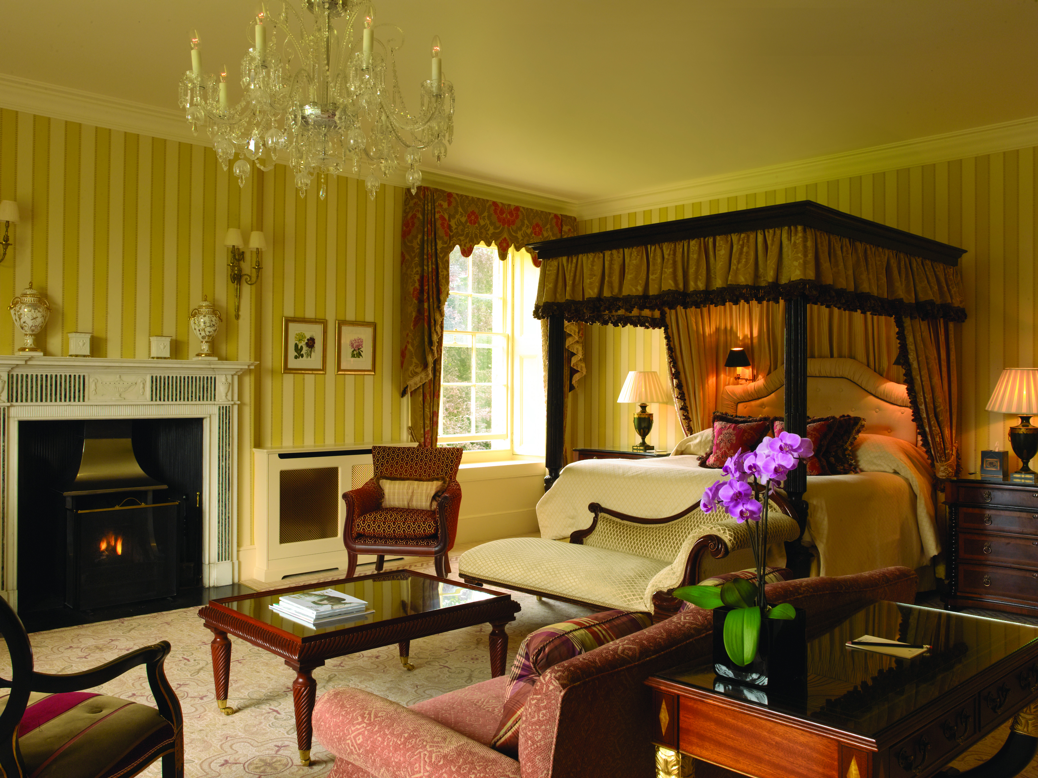 Lucknam Park Is A Magnificent Five Star Country House Hotel Just Six Miles From The Historic City Of Bath In UK It Set 500 Acres Listed