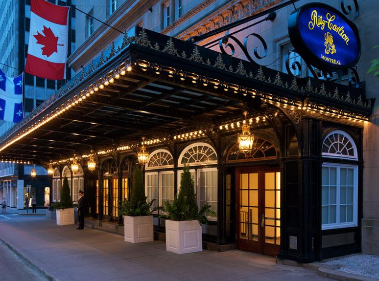 Ritz-Carlton, Montreal, Quebec,Canada