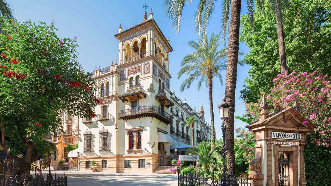 Alfonso XIII Hotel, Seville, Spain