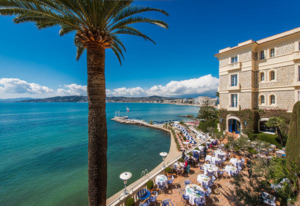 Belles Rives Hotel, Juan-les-Pins, Antibes, France