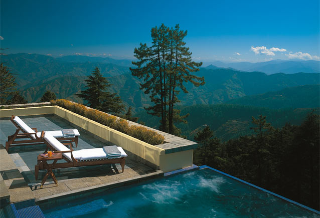 Wildflower Hall, Shimla in the Himalayas, India