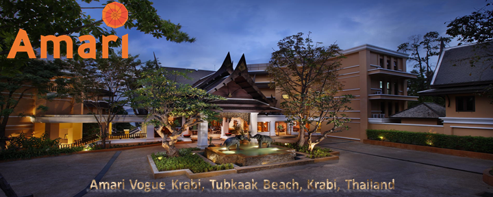 Amari Vogue Krabi, Tubkaak Beach, Krabi, Thailand