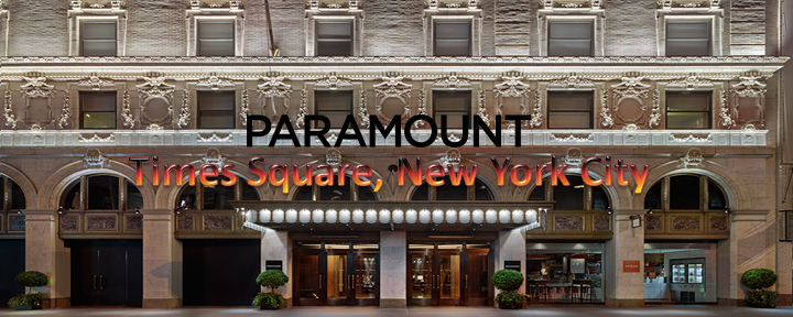 The paramount hotel times square new york city for Best boutique hotels nyc 2015