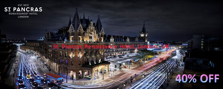 St. Pancras Renaissance Hotel, London, UK