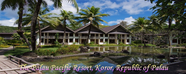 The Palau Pacific Resort, Koror, Republic of Palau